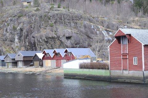 Tett program: Lørdag blir det sommermarknad i den lille byda innerst i Åkrafjorden.arkivfoto: Kristin Eide