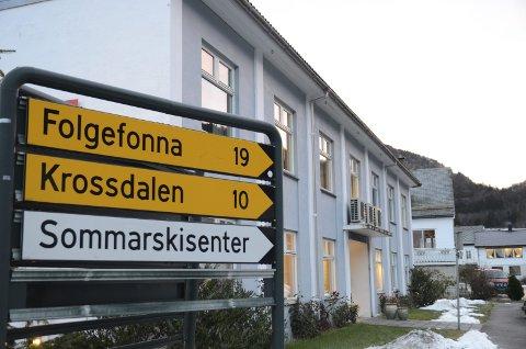 Jondal kommune Kommunehus kommunehuset Folgefonna Krossdalen Sommarskisenter
