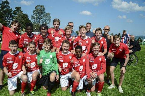 Cup: I Norway Cup stilte OFK med eit G16-lag. I serien speler dei på juniornivå.foto: Rune Helle