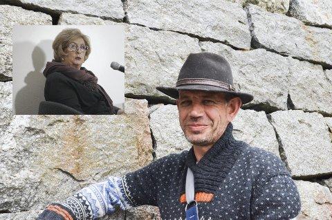 Trude Drevland (innfelt) og Leif Einar Lothe deltek i Stafett for livet.
