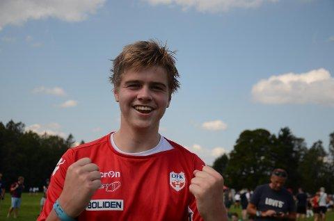 Sindre Freim Eide ble matchvinner da Odda-gutter 16 slo Frei 1-0.