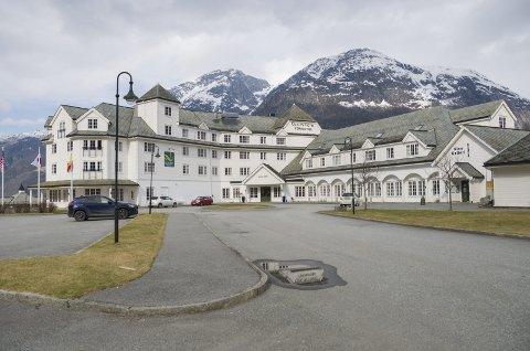 Quality Hotel Vøringfoss: Kultursalen ved hotellet er eigd av Eidfjord kommune. Salen vart nyleg oppgradert av hotellet sitt driftsselskap. Arkivfoto