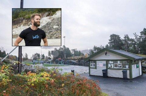 Skotamyra: Lars Aga Reisæter er dagleg leiar i Solnuthallen AS. Han strekar under at det er eit fellesprosjekt, og at idrettslaget eig selskapet.