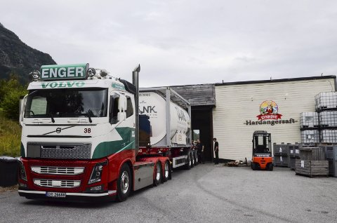Eierskifte? Synnøve Finden eier i dag Hardangersaft på Aga- og ønsker å selge. Fruktlagrene i fjorden forhandler nå om oppkjøp, Arkivfoto: Mette Bleken