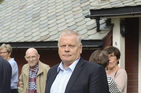 Forbundsleder: Jan Davidsen, her fra et besøk i Odda i 2016. Arkivfoto