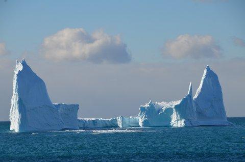 Isfjell i Antartis