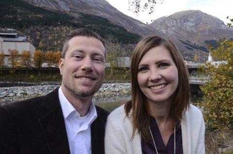 Gir seg: Bente og Kjetil raaen Widding satser på studier og cider.  Nytt vertskap søkes til Utne hotel. Arkivfoto: Mette Bleken