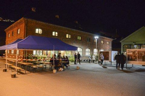 Sentralbadet litteraturhus: Arena for det siste innspelsmøtet til ny næringsplan. Arkivfoto: Ernst Olsen