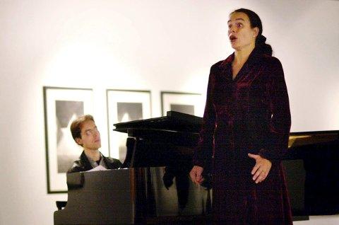 OPERA: Lene Rudbæk får 25.000 til opera.                 FOTO: ØYVIND SÆTRE