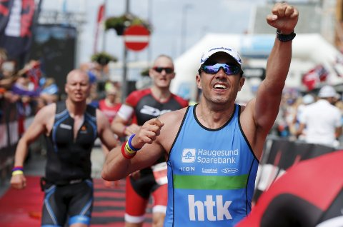 Ironman-festen fortsetter i Haugesund.