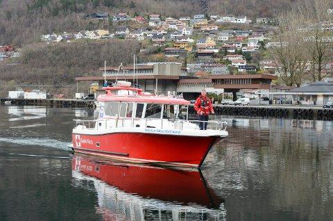 Røde Kors-båten i Hordaland.