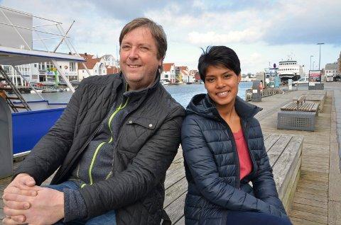 Tore Strømøy og Siri Bhagyashree Eldor dro til India for å finne hennes biologiske mor.