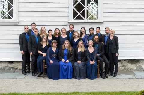 BOCCA: Kammerkoret Bocca har konsert i Kulturkirken Skåre lørdag.