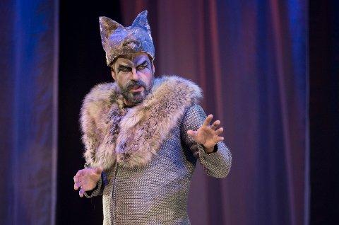 "JUNGELBOKEN: - Jeg spiller ulv og et par roller til, forteller Håkon Karoliussen som ser fram til premieren poå ""Jungelboken"" på Haugesund Teater torsdag 22. februar."
