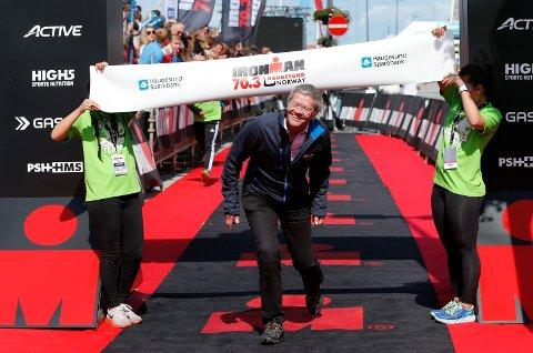 FANT IKKE NOK PENGER: - Det viste seg at det ikke var mulig å arrangere Ironman med arrangementsavgifter på flere millioner kroner, sier Haugesund-ordfører Arne-Christian Mohn.