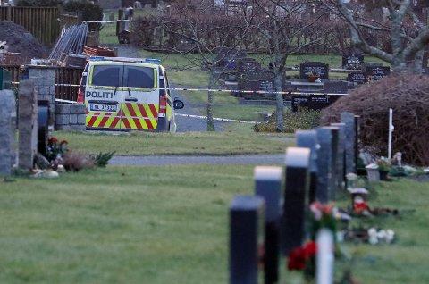 TRAGEDIE: Drapet på Vår Frelsers gravlund 19. januar 2019 ble utført av en mann som senere ble dømt til tvunget psykisk helsevern.