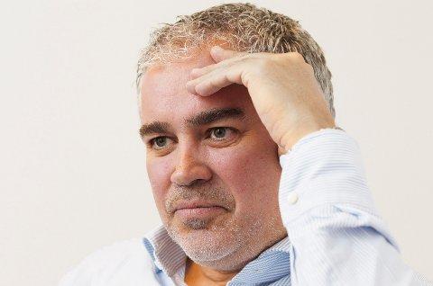 HAUBO: Adm. dir. i Haubo, Svend Inge Stueland. Boligbyggelaget samarbeider med hotelleier Trond Henderson om utvikling av hotelltomten.