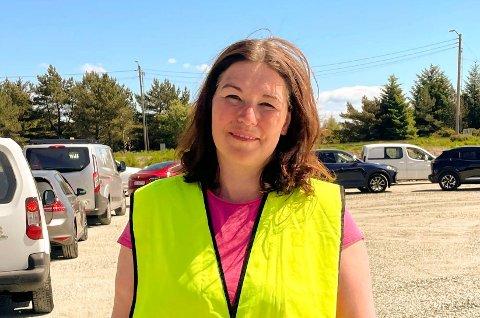 BER FOLK NYTE SOMMEREN: Kommuneoverlege Katrine Marie Haga Nesse i Karmøy sier at det er forventet at vi vil få noe smitte når folk er mer på reise i sommer.