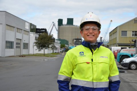 Kathrine Næss, ny sjef på Alcoa