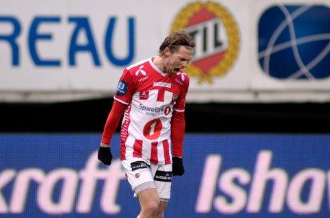 Thomas Drages klubbesøk hos Sogndal kan ende med at han allerede torsdag eller fredag blir presentert som SIL-spiller ut året, og dermed står som fri og kontraktløs spiller etter sesongen. (Foto: Rune Stoltz Bertinussen / NTB scanpix)