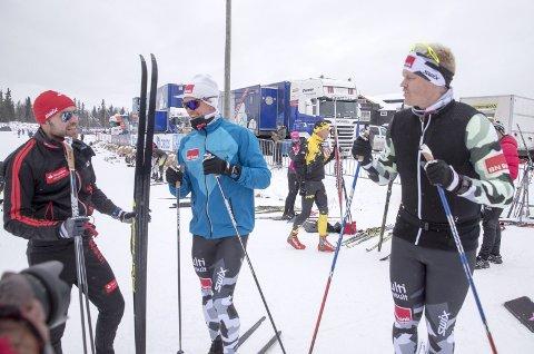 RÅD: Gode råd av langløpskongen Tord Asle Gjerdalen (t.v.).