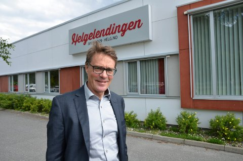 Geir Arne Glad, sjefsredaktør i Helgelendingen.