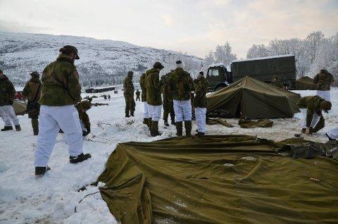 SENTRALT: Drevjamoen ligger så og si midt på Helgeland. MON ønsker at leiren skal bli en rekruttskole for hele Nord-Norge.