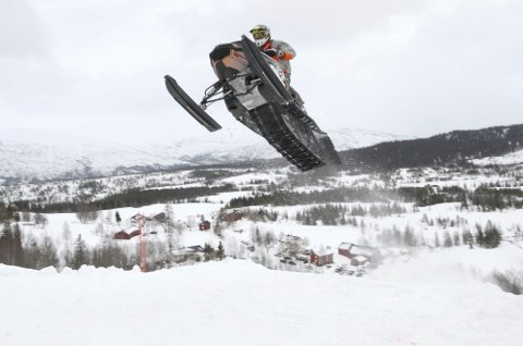 AVLYST: Mosjøen Hillclimb 2021 er avlyst. Her er et bilde av Tormod Boldermo fra Hemnes som deltok i 2019.