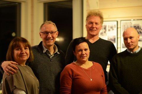 UTVALGET: Lise Svenning, Geir Ove Bakken, Ragnhild Vassvik, Johnny Ingebrigtsen og Arne Liaklev er FFKs forhandlingsutvalg.