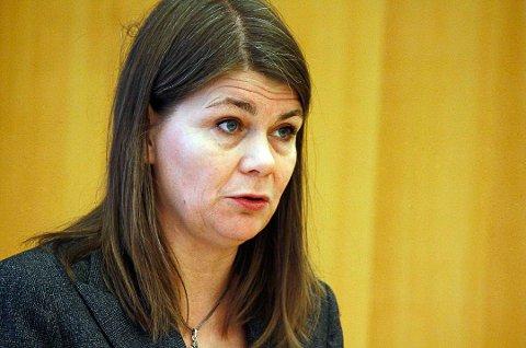 SKUFFET: Trine Noodt (V) er svært skuffet over avgjørelsen om å ikke videreføre TIP-linja i Vardø.