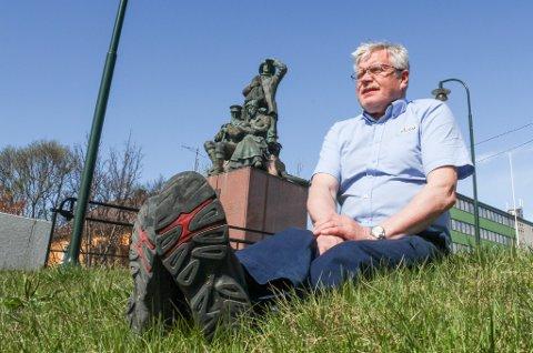 I SINE FORFERDRES FOTSPOR: - Været var omtrent som dette for 40 år siden, minnes Gunnar Dolonen.