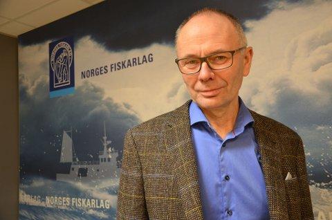 ARTIKKELFORFATTER: Kjell Ingebrigtsen, leder av Norges Fiskarlag.