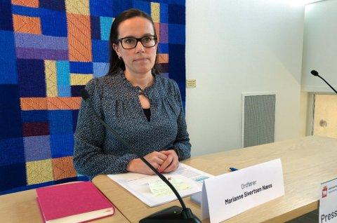 - TILREISENDE: - Det var en tilreisende til Hammerfest, som kom med fly, sier ordfører Marianne Sivertsen Næss om det nye påviste koronatilfellet i kommunen.