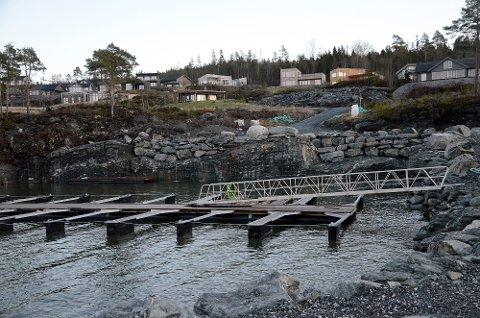 ULOVLIG SPRENGNING: Inderøy kommune vedtok å gi overtredelsesgebyr på totalt 600.000 kroner etter at det ble sprengt ut mer fjell ved hyttefeltet Svaberget enn kommunen hadde gitt tillatelse til.
