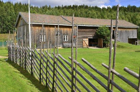 IDYLL: Kurøen er et kombinert bygdetun og kultursenter som ligger ved Rømsjøen.