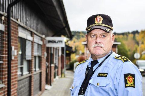 Lensmann Svein Engen i Aurskog-Høland. Foto: Øyvind Henningsen