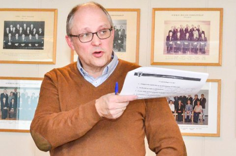 ORIENTERTE:  – Endelige tall og årsrapport som gir utfyllende informasjon vil foreligge 8. april, sa John- Ivar Udnesseter da han orienterte formannskapet.