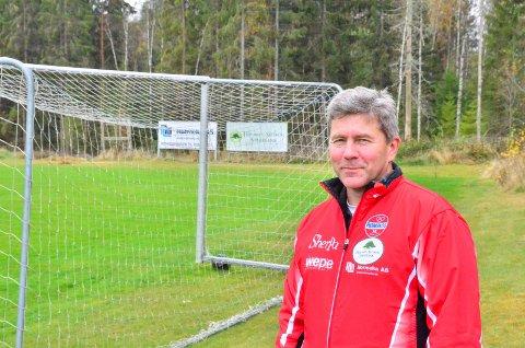 Dag-Ivar Høisveen, leder i Rømskog IL
