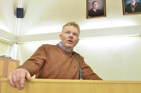 Ikke store forventninger: Grunneier på Mangenskogen, Lars Henrik Sundby fra Lierfoss.