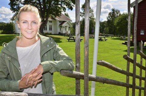 Ulricke Tørnby Arnesen gleder seg til å begynne som kulturkoordinator.