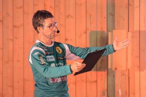 TIL LÅVEFESTEN: Lars Jørgen Skaret. FOTO: JARLE PEDERSEN