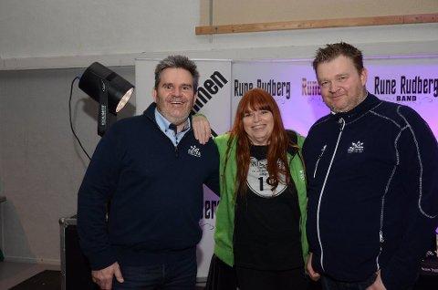 AVVENTER: Morten H. Foss (t.v.), Kari Meyer og Tom Erik Halvorsen i Høland Vinterfestival drøyer ett år med å gjenta arrangementet.