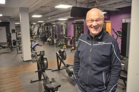 HÅPEFULL: Svein Haagenrud ved Spenst Sørumsand håper treningssenteret snart kan åpne igjen.