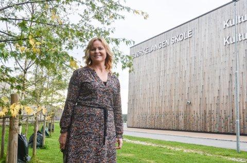NY REKTOR: Marit Reiholm-Hoel (47) er Bjørkelangen skoles nye rektor.