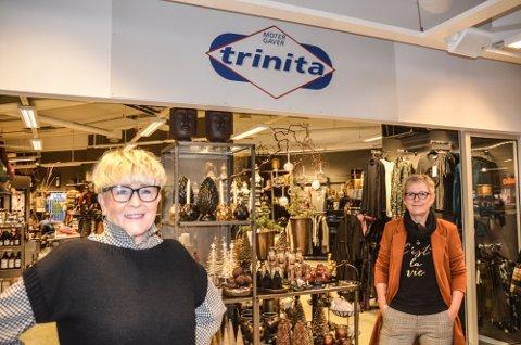 DRIVER GODT: Anita Ottesen (t.v.) og Trine Lerdahl Rake i Trinita driver godt - midt i koronakrisa.