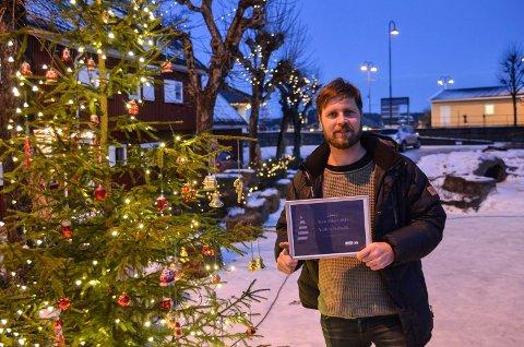 ILDSJELEN 2017: Audun Solbekk er tildelt årets idsjelpris fra Skagerrak Sparebank, for sitt brennende engasjement for Kragerø sentrum og for kulturlivet i kommunen.