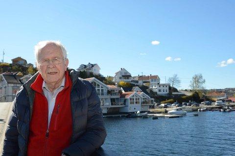 STERKT IMOT: Frp-politiker Iver A. Juel er sterkt imot kommunens pengebruk i forbindelse med en kommende studietur til Danmark.
