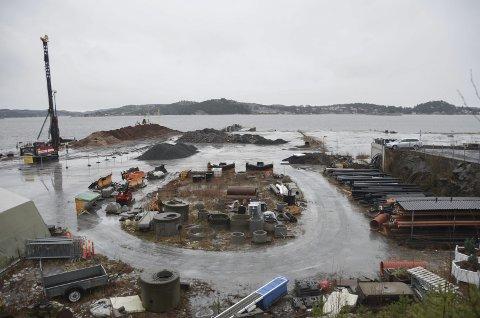 Til havnevesenet: Kragerø havnevesen vil bli gitt ansvaret for å utvikle Stilnestangen Nord.