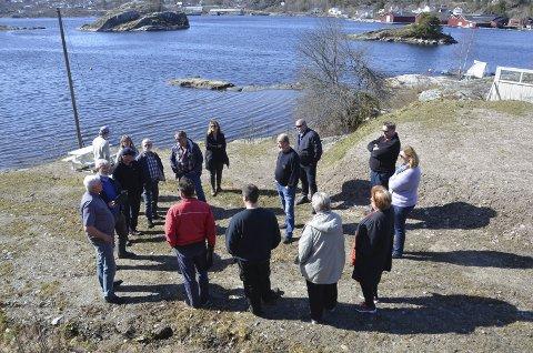Befaring: Hovedutvalget for plan, bygg og miljø så på utfyllinger som det ikke var søkt om på Lovisenberg camping.