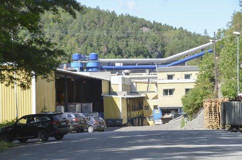 PROSJEKT PÅ GANG: Vafos Pulp AS ønsker å bygge et nytt anlegg så fort som mulig. Målet er å være ferdig innen mai neste år.